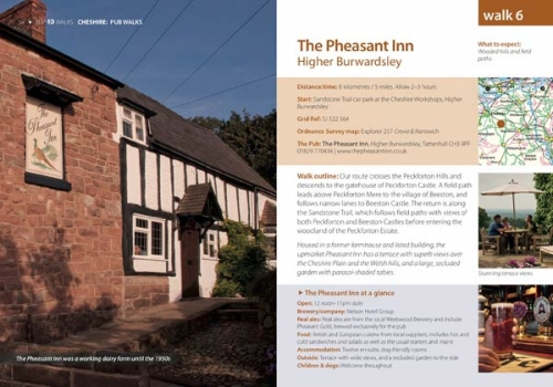 Cheshire Pub Walks - Pheasant Inn, Higher Burwardsley