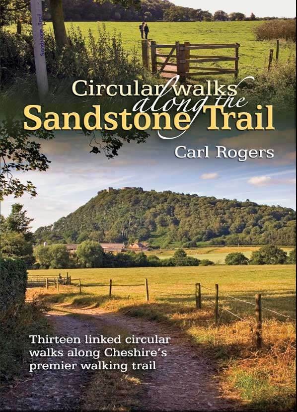 walking cheshires sandstone trail official guide 34 miles along cheshires central sandstone ridge