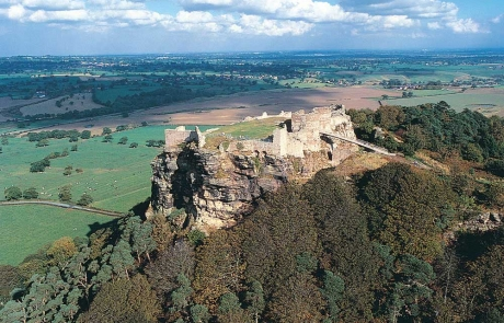 Beeston Castle sits at the heart of Cheshire