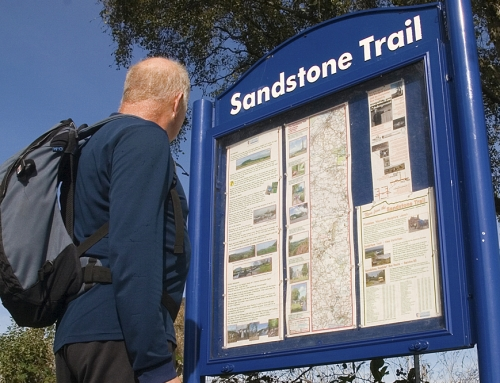 Walking the Sandstone Trail